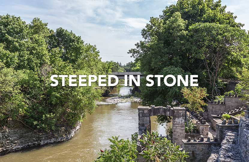 Steeped in Stone – Templin Gardens